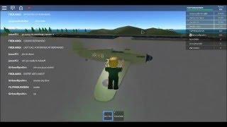 playing roblox pilot training