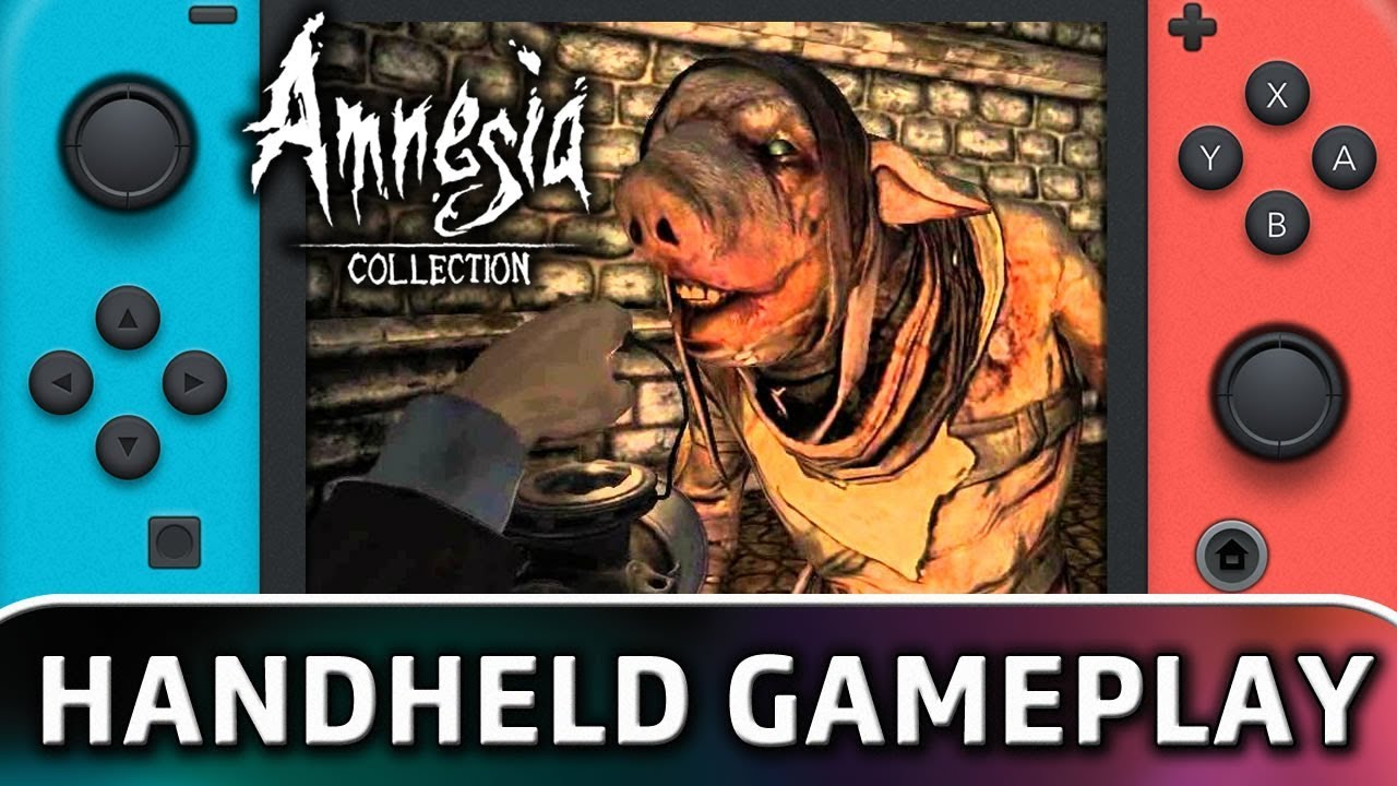 Amnesia: Collection | 5 Minutes in Handheld MODE on Nintendo Switch