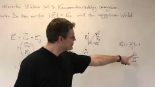 Elektrotechnik - Einführung Vektorrechnung im E-Feld (Teil 1) - Zooming