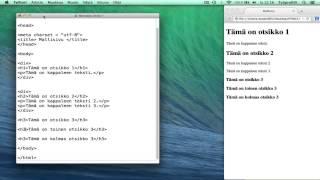 HTML5/CSS: Miten CSS-tiedosto luodaan?