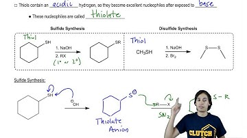 Reactions of Thiols