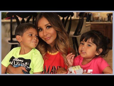 Snooki's Fall Treats with Lorenzo & Giovanna!