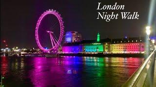 London Night Walking/런던 야경/런던아…