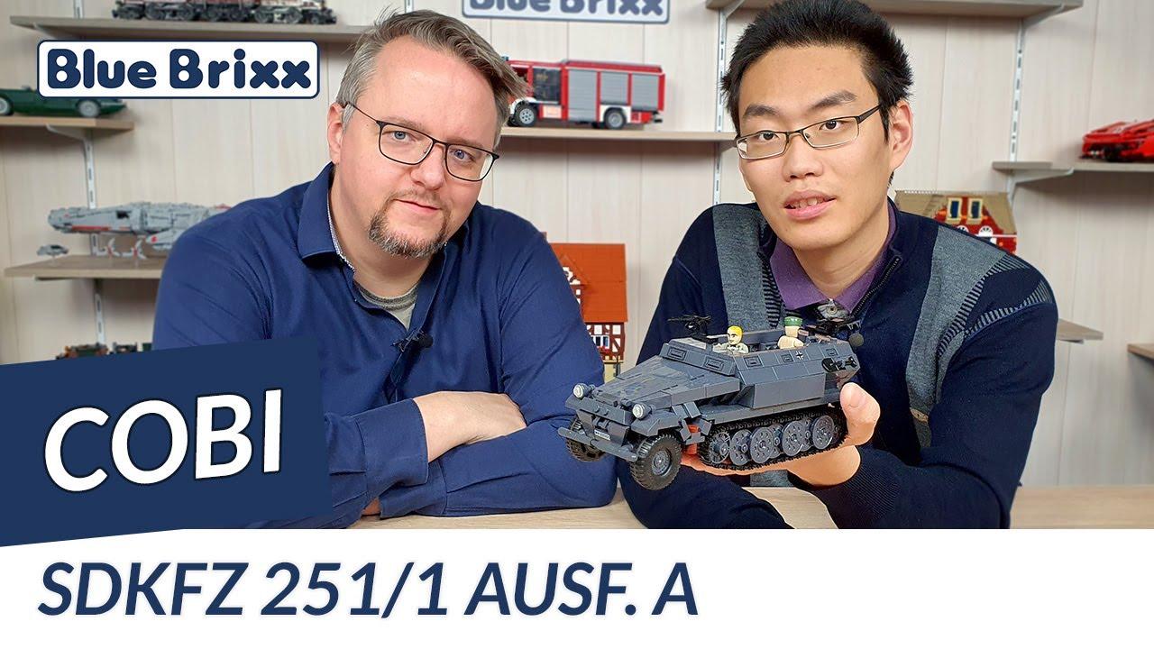 Download SdKfz 251/1 Ausf. A von Cobi @ BlueBrixx