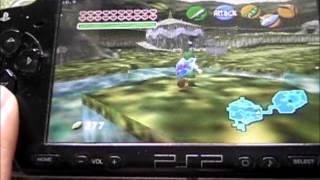Zelda Ocarina of Time PSP - DaedalusX64 r790