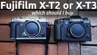 FUJIFILM X-T2 OR FUJIFILM X-T3. WHICH MIRRORLESS APS-C CAMERA SHOULD I BUY?