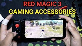 Red Magic 3 Gaming Accessories Unboxing And Overview