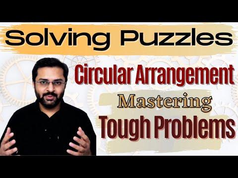 Logical Reasoning - 20 (Tough Circular Seating Arrangement Problem)
