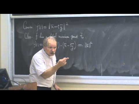 Shifrin Math 3500 Day 4: Triangle Inequality and Cauchy-Schwarz