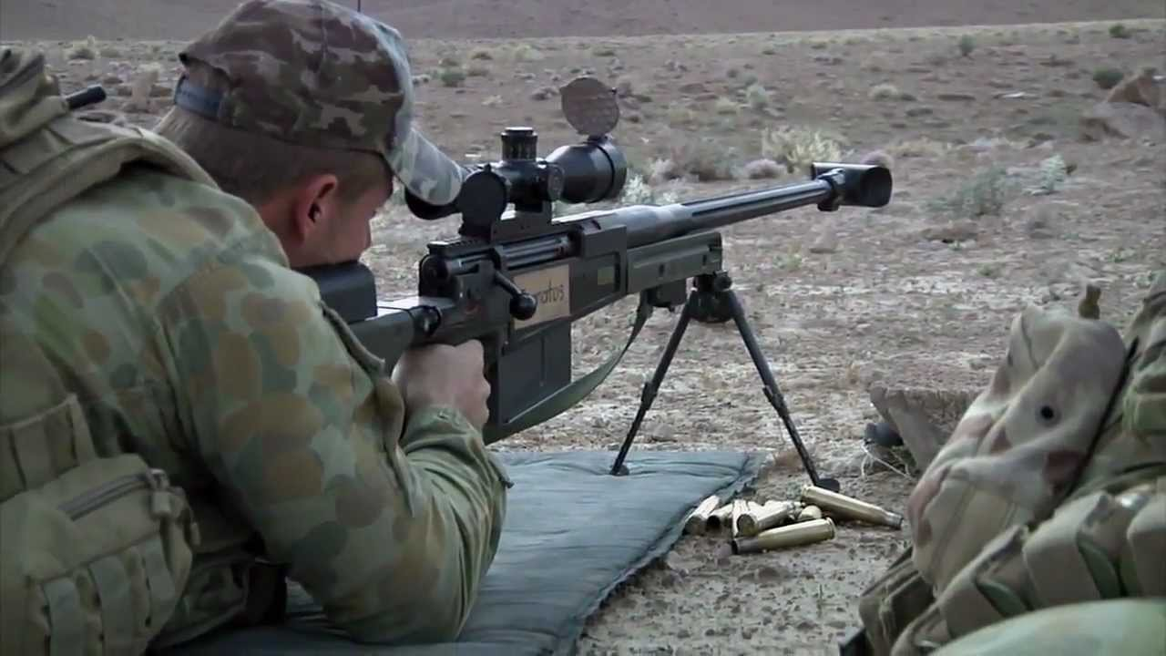 Afghanistan Sniper Training - AW50 M24 XM2010
