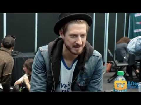 Arthur Darvill (Rip Hunter) from DC's Legends of Tomorrow NYCC 2015 Interview