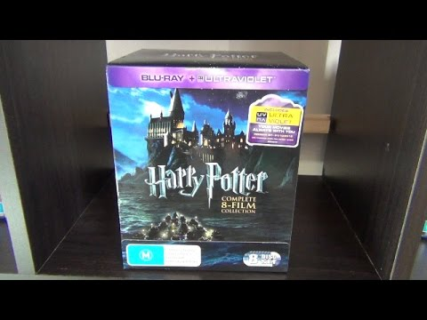 harry potter complete 8 film collection blu ray unboxing youtube. Black Bedroom Furniture Sets. Home Design Ideas