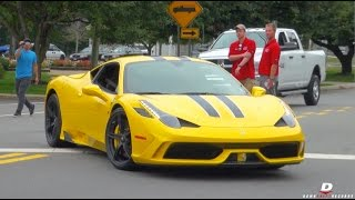 Exotic Cars Arriving to Driven By Purpose 2014 // Part 8