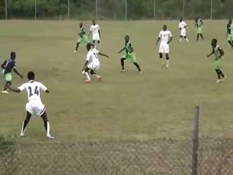 Ghana U17 Soccer Match  - Video 1