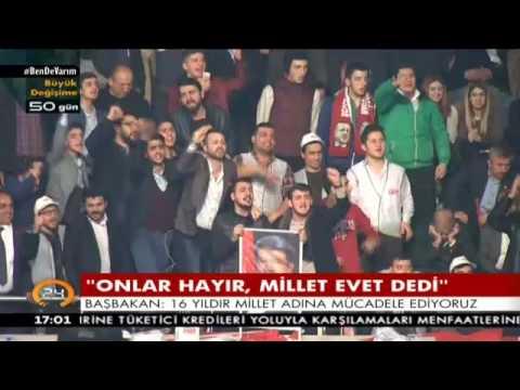 Binali Yıldırım'dan tarihi konuşma: Recep Tayyip Erdoğan muhtar bile olamaz dediler