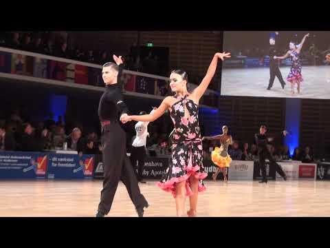 Copenhagen Open 2018.WDSF World Open Latin Final