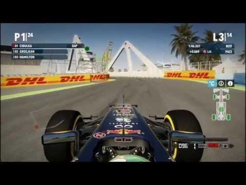 F1 2012 - VC Evropy - závod (Red Bull)