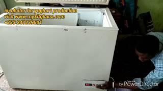 How to make an incubator to ferment yoghurt