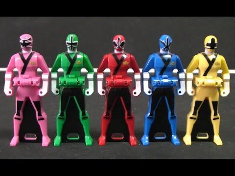 Power Rangers Samurai Ranger key Toys 파워레인저 블레이드포스 레인저키 장난감