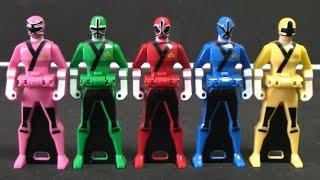 đồ Chơi  Siêu Nhân Thần Kiếm 파워레인저 블레이드포스 레인저키 장난감 Power Rangers Samurai