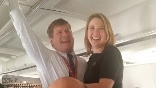 Alaska Airlines Inflight Wedding Proposal
