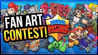 The Best Fan Art in Brawl Stars! Fan Art Contest Favorites
