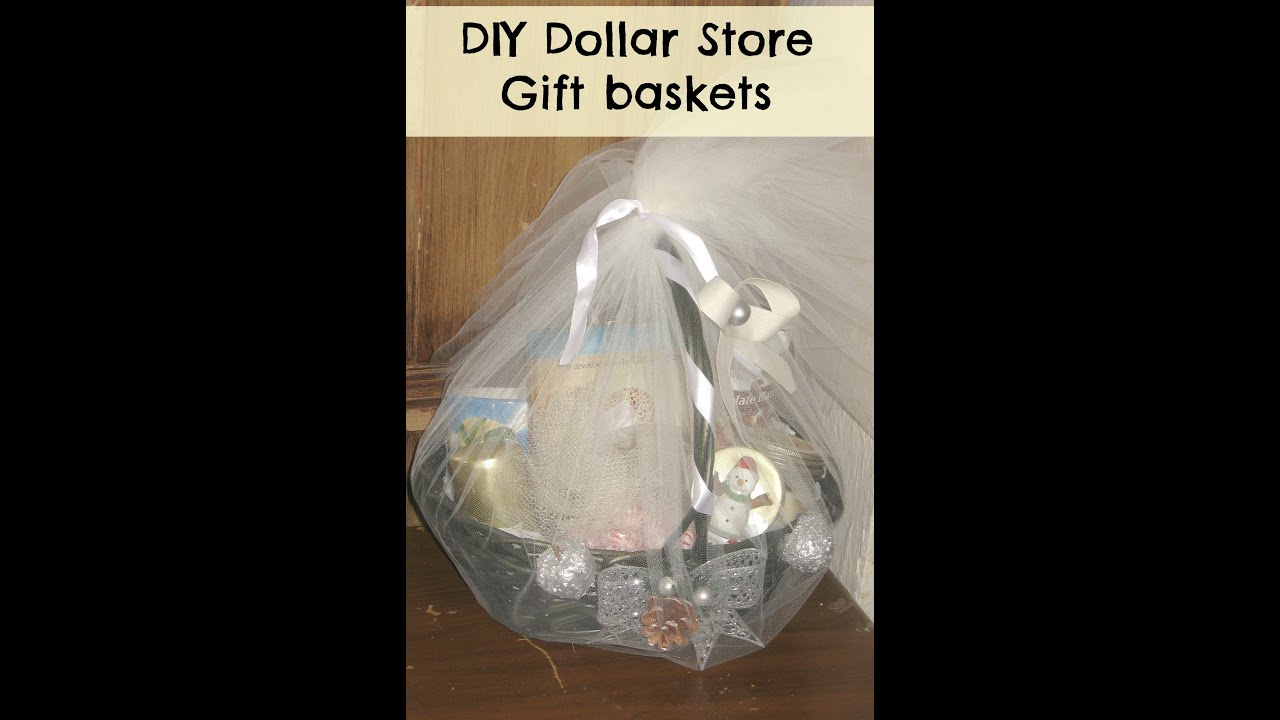 Diy christmas gift ideas how to make gift basket from the dollar diy christmas gift ideas how to make gift basket from the dollar store youtube solutioingenieria Image collections