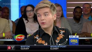 Caleb Lee Hutchinson GMA Interview and Performance