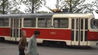 Tatra-Staßenbahnen in Pjöngjang (평양), Nordkorea (조선,북한)