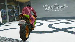 CARRERA DENTRO DEL CASINO!! - GTA V ONLINE - GTA 5 ONLINE