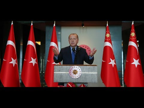 Cumhurbaşkanımız Erdoğan, 10. Büyükelçiler Konferansı katılımcılarına hitap etti