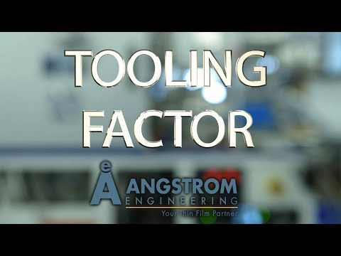 Angstrom How-To | Tooling Factor