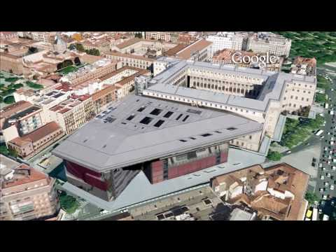 3D Madrid in Google Earth