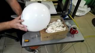 Двухцветная не сложная печать на шарах(, 2016-05-23T14:37:30.000Z)