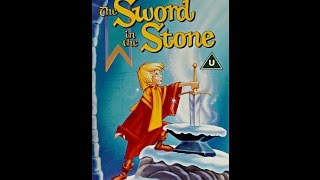 Digitized opening to The Sword in the Stone (UK VHS)