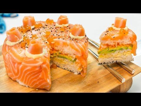 Sushi Cake!!! 🍰