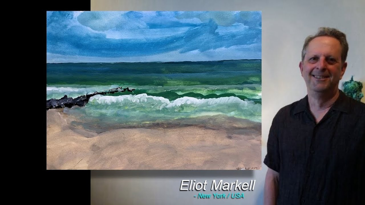 Eliot Markell / co-curated numerous group shows of emerging and well known visual artists.