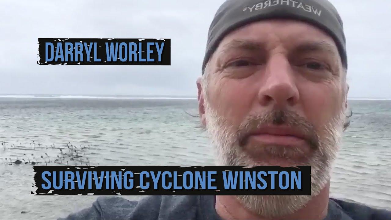 Darryl Worley Survives Cyclone Winston in Fiji