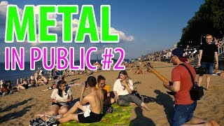 METAL IN PUBLIC: Djent On The Beach - Heart Of A Coward
