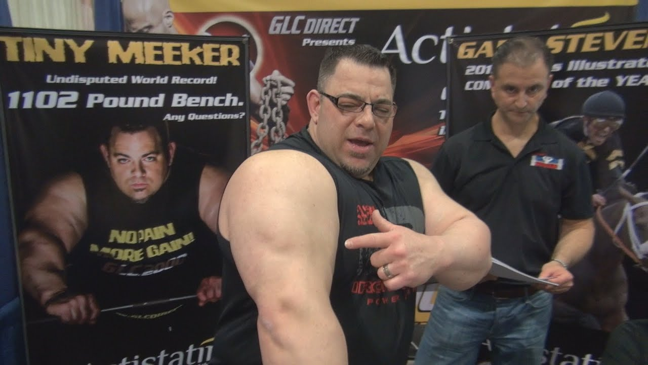 Tiny Meeker at 2014 Fit Expo Los Angeles - YouTube