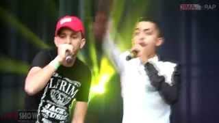 REGGIO & SPOO POW & 7-TOUN : Live Concert L'Boulevard 2015 (Dima Show)