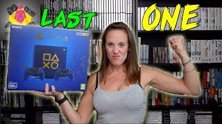 PS4 Slim DAYS OF PLAY Limited Edition Console Unboxing | PS4 Console Collection | TheGebs24