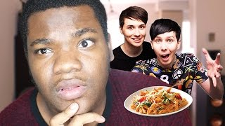 HAVING SEX WITH DAN AND PHIL & FIGHTING ABOUT PASTA