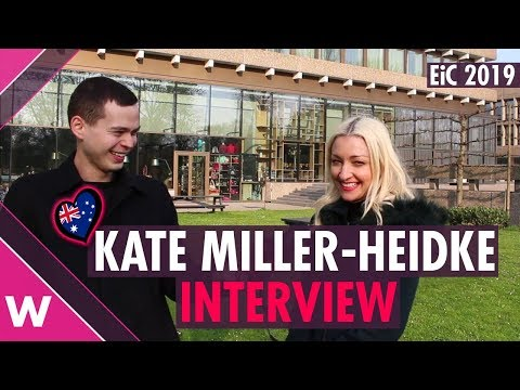 Kate Miller-Heidke (Australia 2019) INTERVIEWEurovision in Concert
