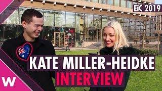 Kate Miller-Heidke (Australia 2019) INTERVIEW  Eurovision in Concert