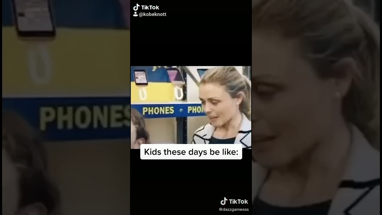 Kids these days be like - YouTube