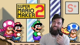 ULTIMATE Mario Maker Multiplayer - The Road to Pink S+ [#01]