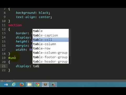 Overflow display doovi - Css display table tutorial ...