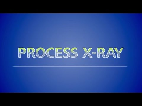 Process X-ray: Process efficiency with advanced analytics