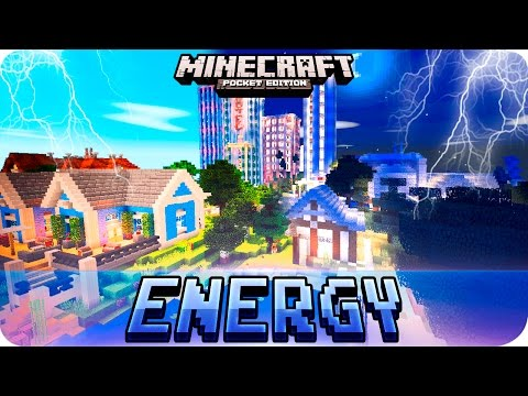 Minecraft PE - ENERGY SHADERS Texture Pack for MCPE 0.16.0 / 1.0 / 0.17.0